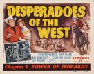 Desperadoes of the West - Movie Poster (xs thumbnail)