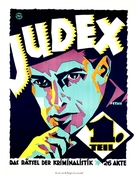 Judex - German Movie Poster (xs thumbnail)