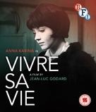 Vivre sa vie: Film en douze tableaux - British Movie Cover (xs thumbnail)