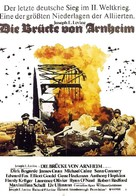 A Bridge Too Far - German Movie Poster (xs thumbnail)
