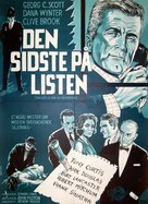 The List of Adrian Messenger - Danish Movie Poster (xs thumbnail)