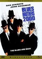 Blues Brothers 2000 - DVD cover (xs thumbnail)