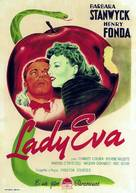 The Lady Eve - Italian Movie Poster (xs thumbnail)