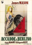 The Man Between - Italian Movie Poster (xs thumbnail)