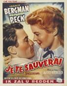 Spellbound - Belgian Movie Poster (xs thumbnail)