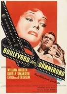 Sunset Blvd. - German Movie Poster (xs thumbnail)
