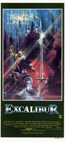 Excalibur - Australian Movie Poster (xs thumbnail)