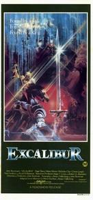 Excalibur - Australian Movie Poster (xs thumbnail)