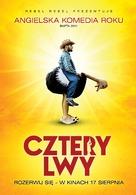 Four Lions - Polish Movie Poster (xs thumbnail)