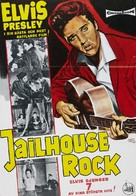 Jailhouse Rock - Swedish Movie Poster (xs thumbnail)