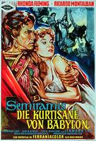 Cortigiana di Babilonia - German Movie Poster (xs thumbnail)