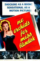 No Orchids for Miss Blandish - British Movie Poster (xs thumbnail)
