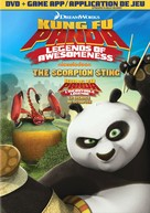 """""""Kung Fu Panda: Legends of Awesomeness"""" - Canadian DVD movie cover (xs thumbnail)"""