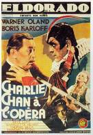 Charlie Chan at the Opera - French Movie Poster (xs thumbnail)