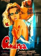 Andrea - Wie ein Blatt auf nackter Haut - French Movie Poster (xs thumbnail)