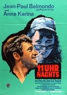 Pierrot le fou - German Movie Poster (xs thumbnail)