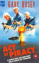 Act of Piracy - British VHS movie cover (xs thumbnail)
