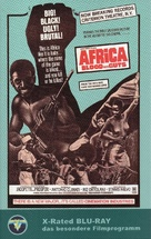 Africa addio - German Blu-Ray cover (xs thumbnail)