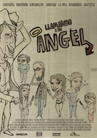 Llamando a un ángel - Mexican Movie Poster (xs thumbnail)
