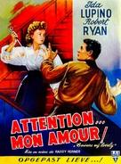 Beware, My Lovely - Belgian Movie Poster (xs thumbnail)