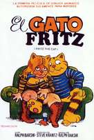 Fritz the Cat - Spanish Movie Cover (xs thumbnail)