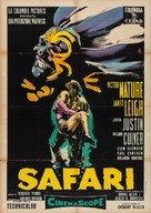 Safari - Italian Movie Poster (xs thumbnail)