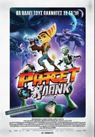 Ratchet and Clank - Greek Movie Poster (xs thumbnail)