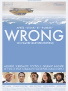 Wrong - French Movie Poster (xs thumbnail)