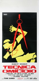 Tecnica di un omicidio - Italian Movie Poster (xs thumbnail)