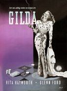 Gilda - Danish Movie Poster (xs thumbnail)