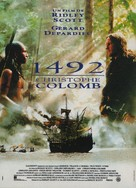 1492: Conquest of Paradise - French Movie Poster (xs thumbnail)