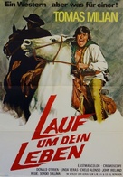 Corri uomo corri - German Movie Poster (xs thumbnail)