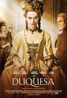 The Duchess - Brazilian Movie Poster (xs thumbnail)