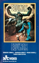 Equinox - Finnish VHS movie cover (xs thumbnail)