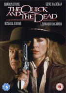 The Quick and the Dead - British DVD movie cover (xs thumbnail)