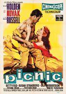 Picnic - Italian Movie Poster (xs thumbnail)