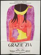 Grazie zia - French Movie Poster (xs thumbnail)