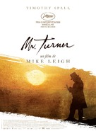 Mr. Turner - French Movie Poster (xs thumbnail)