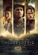 The Lost City of Z - Lebanese Movie Poster (xs thumbnail)