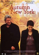 Autumn in New York - Italian Movie Poster (xs thumbnail)