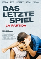 La partida - German Movie Poster (xs thumbnail)