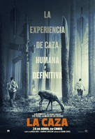 The Hunt - Spanish Movie Poster (xs thumbnail)