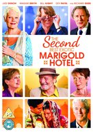 The Second Best Exotic Marigold Hotel - British DVD cover (xs thumbnail)