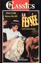 La fessée ou Les mémoires de monsieur Léon maître-fesseur - Italian VHS cover (xs thumbnail)