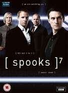 """Spooks"" - British DVD cover (xs thumbnail)"