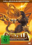Gojira, Mosura, Kingu Gidorâ: Daikaijû sôkôgeki - German DVD cover (xs thumbnail)