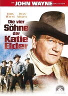 The Sons of Katie Elder - German Movie Cover (xs thumbnail)