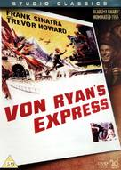 Von Ryan's Express - British DVD cover (xs thumbnail)