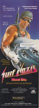 Surf Nazis Must Die - German Video release poster (xs thumbnail)