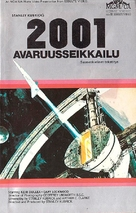 2001: A Space Odyssey - Finnish VHS movie cover (xs thumbnail)